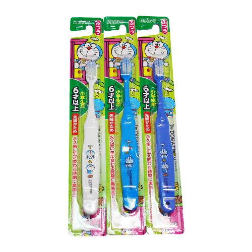 日本EBISU哆啦A夢兒童牙刷6歲以上(顏色隨機出貨)★衛立兒生活館★