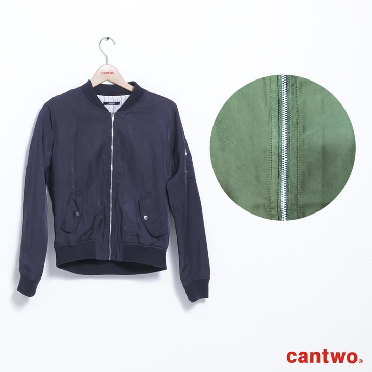 cantwo金屬光MA1外套(共三色) 7