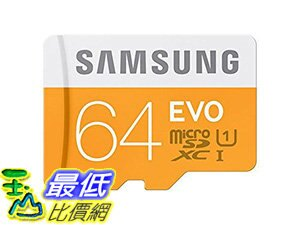 [106 美國直購] Samsung 原廠 MB-MG64DA/AMZ 記憶卡 64GB PRO Micro SDXC with Adapter Class 10 Memory Card