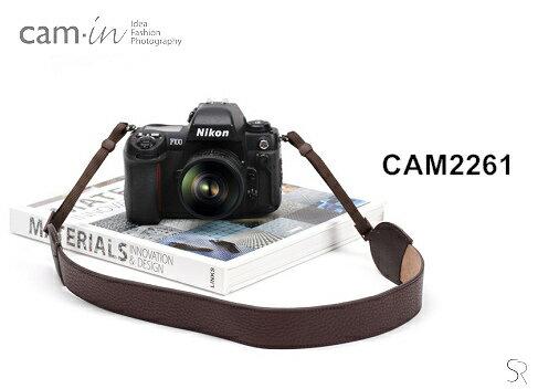 Nikon-Mall:【Cam.in】潮流相機背帶型號:CAM2261顏色:咖啡色