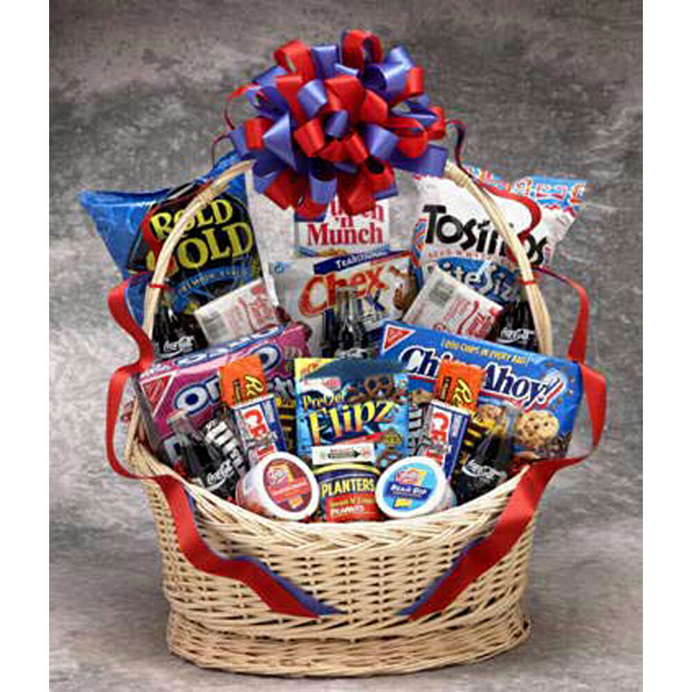 Gift Basket Dropshipping Coke Works Snack Gift Basket Large 0
