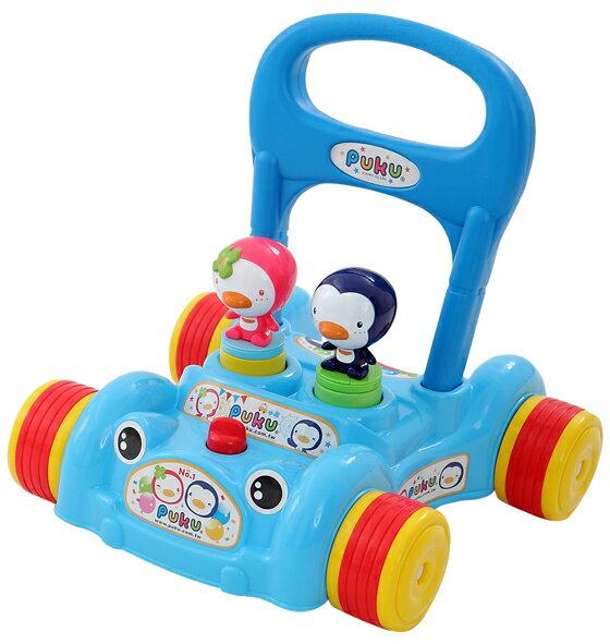 PUKU藍色企鵝 - 助步車 (水藍/粉紅) 3