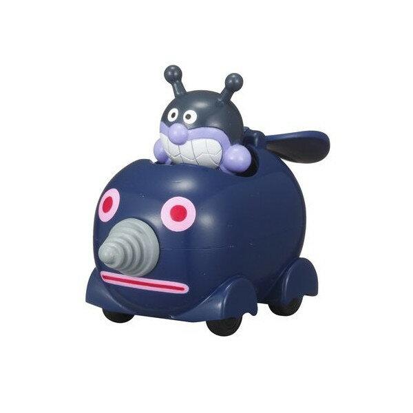 【真愛日本】15110700023 GOGO迷你車-細菌人鑽土機 麵包超人 小車 迷你車 玩具車 兒童玩具