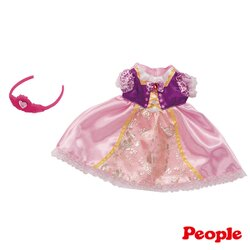 【奇買親子購物網】POPO-CHAN 衣著系列-小公主造型洋裝組合