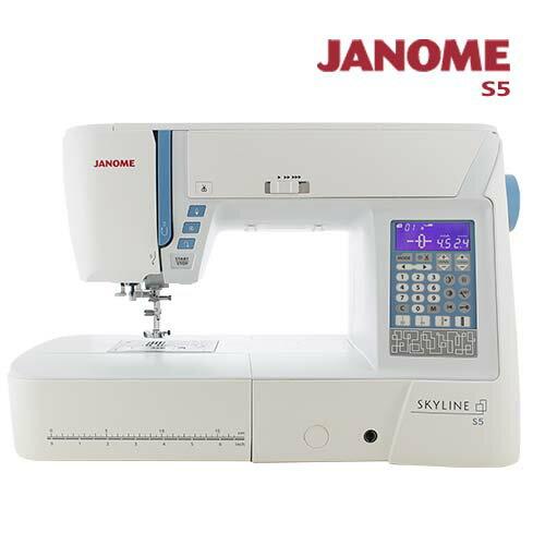 日本車樂美 JANOME 電腦型全迴轉縫紉機S5
