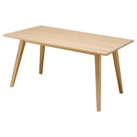 ◎實木餐桌椅五件組 ALAND140 白橡木 NITORI宜得利家居 3