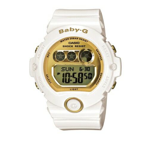 CASIO BABY-G/甜美魅力絕配金流行運動錶/BG-6901-7DR