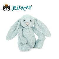 彌月玩具與玩偶推薦到★啦啦看世界★ Jellycat 英國玩具 / 18公分小淡藍兔  玩偶 彌月禮 生日禮物 情人節 聖誕節 明星 療癒 辦公室小物就在Woolala推薦彌月玩具與玩偶