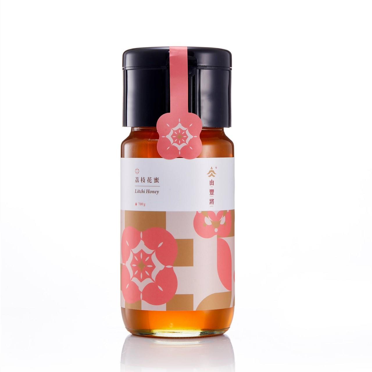 【由豐將】100%台灣蜂蜜-楊貴妃特愛的荔枝花蜜 700g(大)