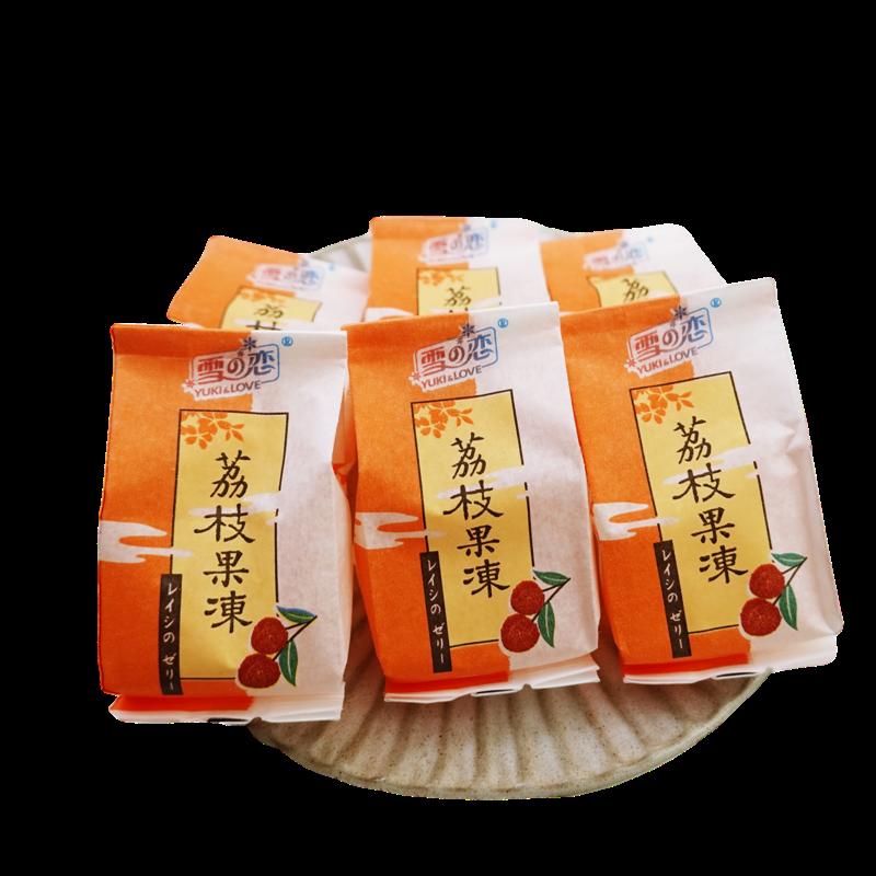 【雪之戀】荔枝凍 500g(10入) 【4712905017835】(台灣果凍)