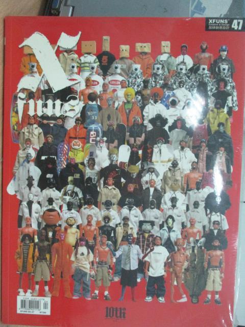 【書寶二手書T1/設計_XBJ】Xfuns放肆創意設計_47期_角色:設計師玩具