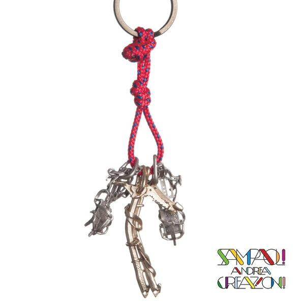 【SAC義大利】青銅掛飾吊飾-冰爪+攀登冰斧義大利傳統飾品工藝SAC29