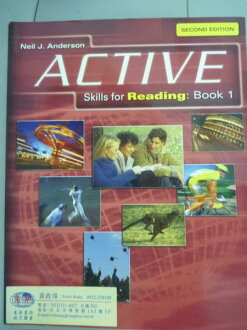 【书宝二手书T1/语言学习_QON】Active Skills for Reading:Book 1_Neil J.Anderson_样书_2/e