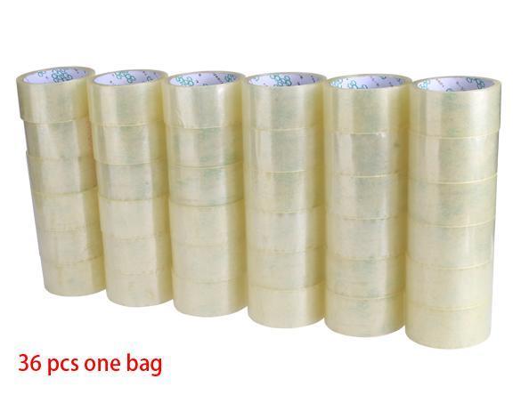 36 Rolls Box Carton Packaging Tape 0