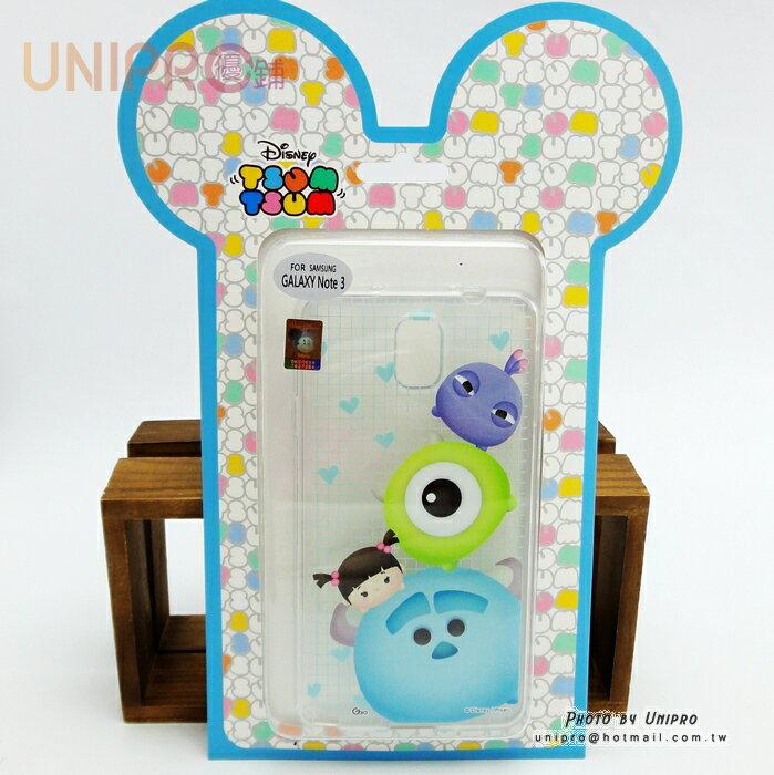 【UNIPRO】三星 NOTE3 迪士尼 Tsum Tsum 疊疊樂 TPU 透明 手機殼 怪獸大學 N900