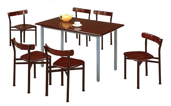 【尚品傢俱】※自運價※Q-TD-B313-44x2.5尺道奇胡桃桌