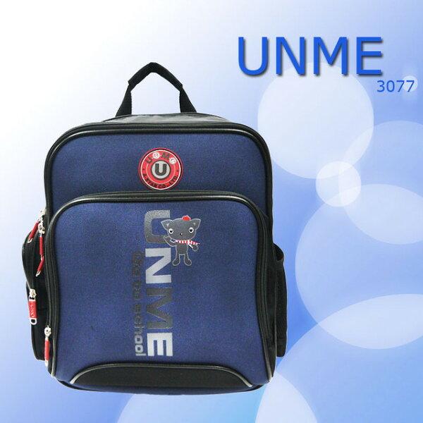 【加賀皮件】UnMe日本流行款兒童後背背包兒童書包3077