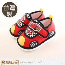 寶寶鞋 台灣製迪士尼閃電麥坤授權寶寶嗶嗶鞋 魔法Baby~sk0213