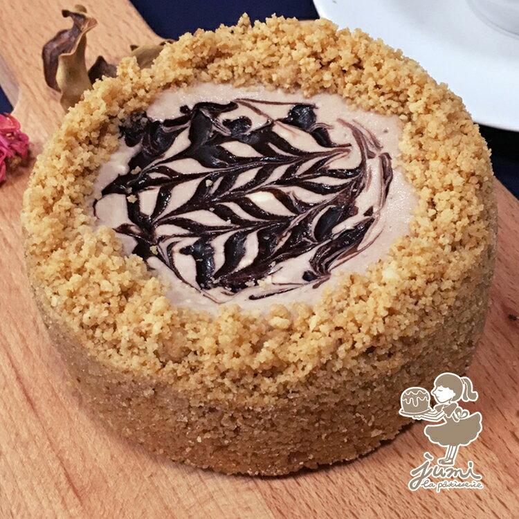 jumi法式甜點-巧克力乳酪蛋糕-四吋