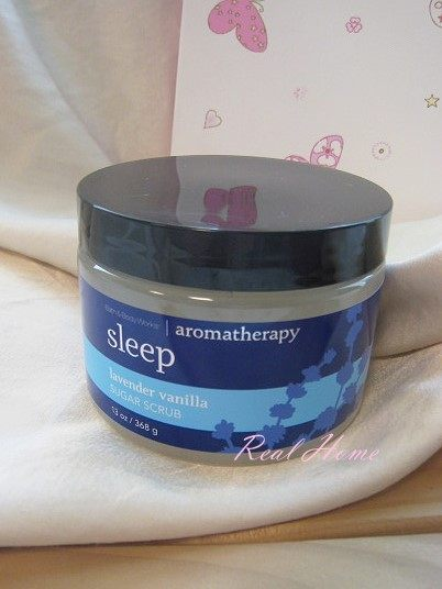 *Realhome* BBW Aromatherapy 芳香精油 糖蜜磨砂膏 薰衣草香草~ Sleep
