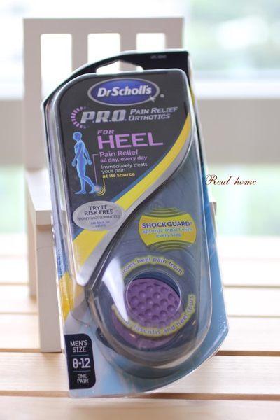 *Realhome*美國 爽健 Dr. Scholl's 鞋墊腳跟舒緩型
