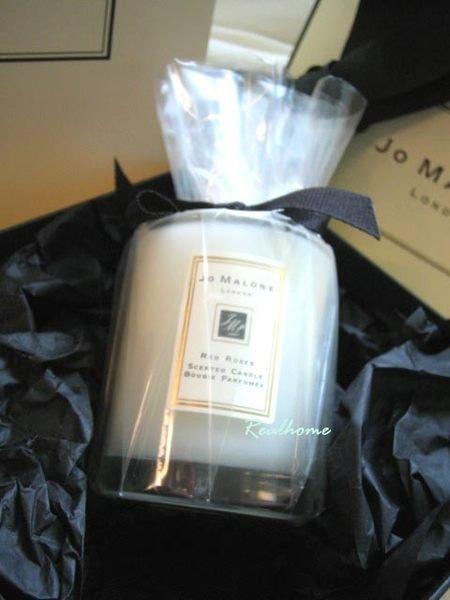 *Realhome*英國夢幻香水名牌 Jo Malone 紅玫瑰蠟燭 60g 旅用款 熱賣