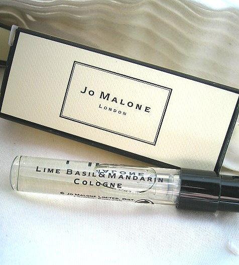 *Realhome*英國香水名牌 Jo Malone 試管小香1.5 ml 青檸羅勒葉與柑橘 ~