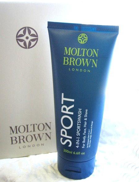 *Realhome* 英國 Molton Brown ~男士專用 4合1-Sport運動風最新推出 new