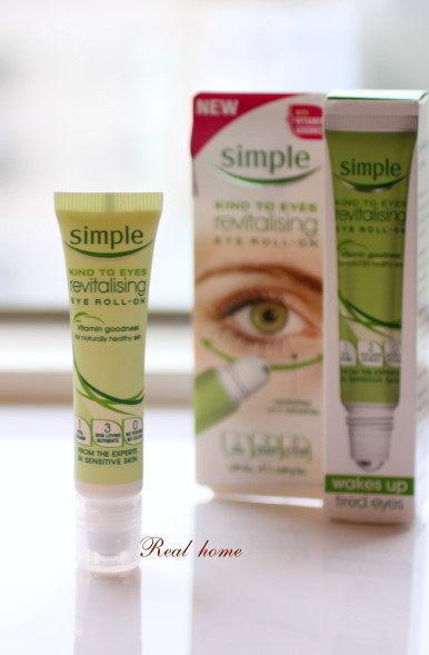 *Realhome*英國 暢銷品牌 SIMPLE (就是簡單) 修護眼霜 滾珠款