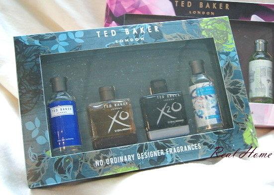 *Realhome* 英國時尚名牌 Ted Baker 限量小香水禮盒組~魅力男士款 & 女士款~出清5折專區
