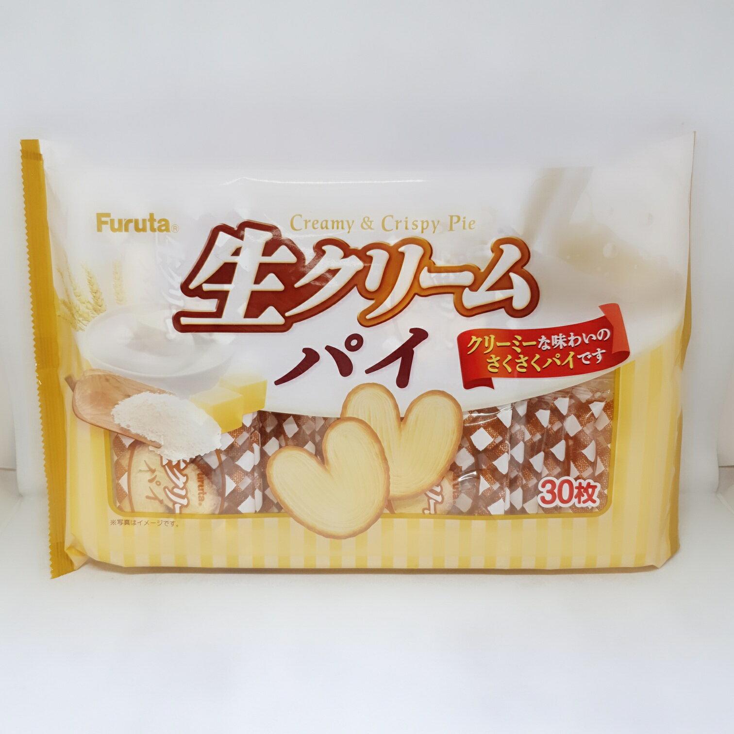 日本-古田心型奶油派195g包