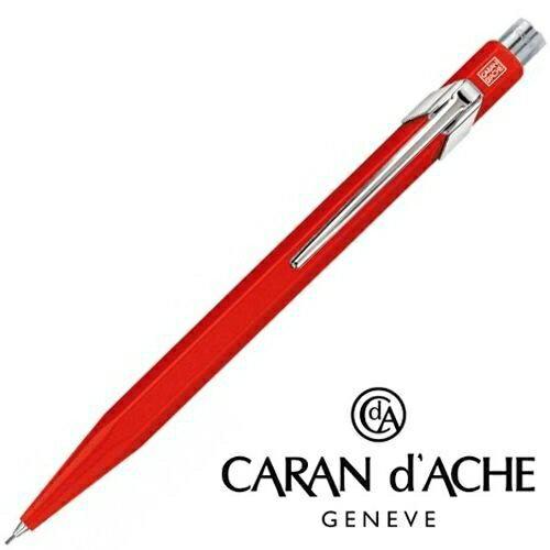 筆殿 瑞士卡達Caran d''Ache Classic 849 Original經典系列0.7mm自動鉛筆紅色桿*844.070