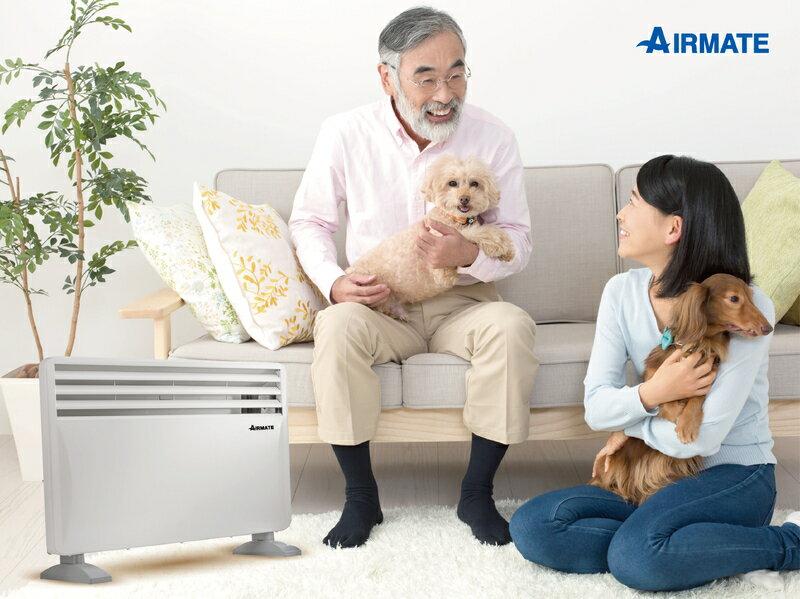 AIRMATE居浴兩用對流式電暖器
