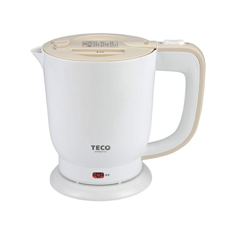 (福利品)【東元】0.8公升304不銹鋼快煮壺 電茶壼 XYFKE7131 保固免運