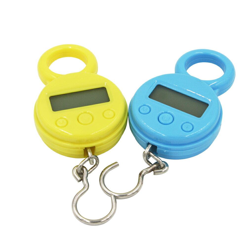 『迷你行李掛鉤、電子秤』10Kg、10g、便攜式、液晶顯示器、重量數字秤、吊秤
