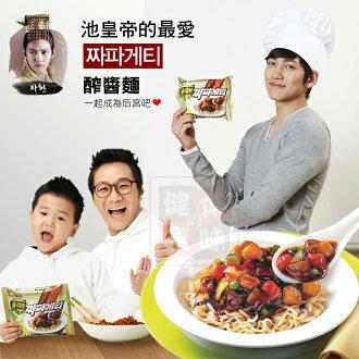 韓國農心炸醬麵 醡醬風味麵 醡醬麵 黑麵 泡麵 [KO46155736] 千御國際