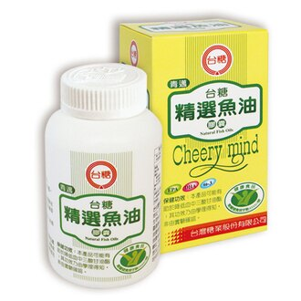 台糖 精選魚油膠囊(100粒/瓶)