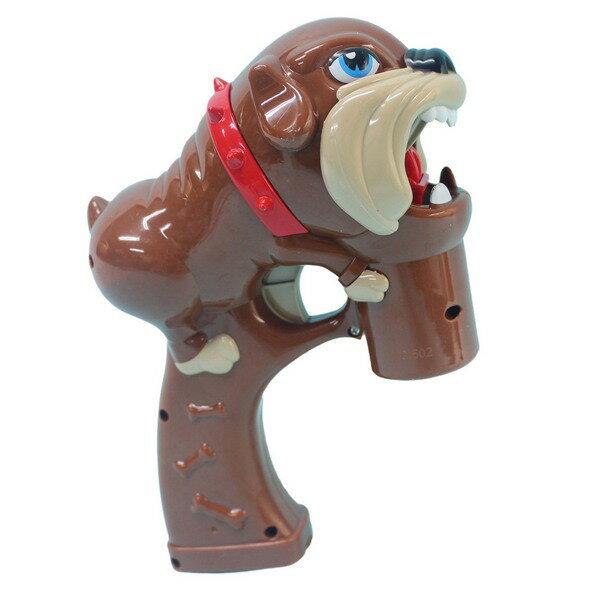 惡犬泡泡槍 自動吹泡泡槍+泡泡水(附電池) / 一袋5支入 { 促180 }  聲光電動泡泡槍~CF138616 2