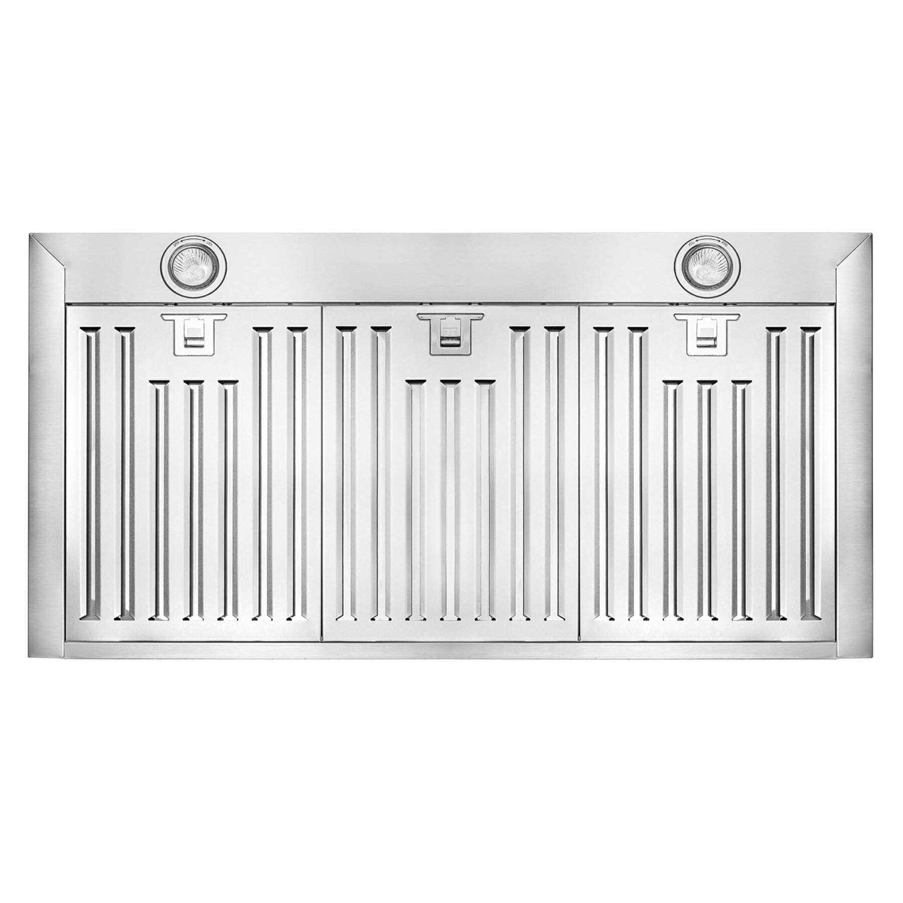 """36"""" Stainless Steel Wall Mount Range Hood Touch Screen Display Light Lamp Baffle Filter 3"""