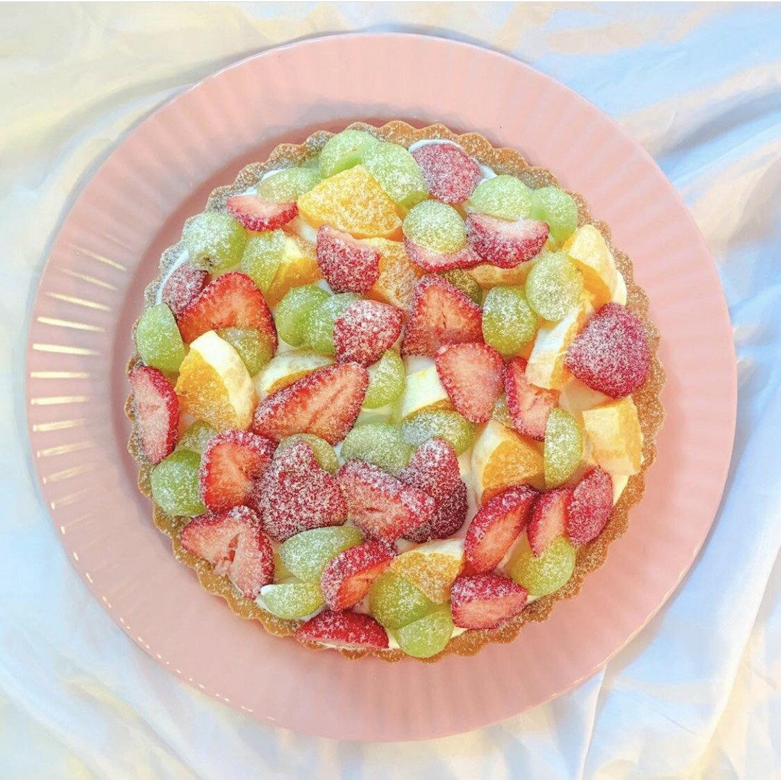 甜甜xTianTian 綜合水果塔(8吋)點心/下午茶/塔派/手作甜點