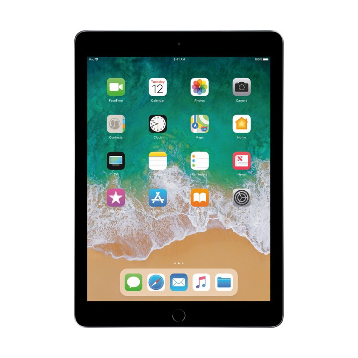 "Apple iPad 9.7"" Multi-Touch Retina Display 32GB A10 Chip Wi-Fi Tablet MR7F2LL/A - Space Gray (2018) 0"
