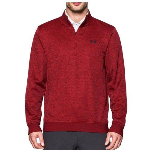 Under Armour Men's UA Storm Fleece Golf Sweater 1/4 Zip Large Rapture Red 9cfc2d2b26db9ccee7cda17bfdc062d0