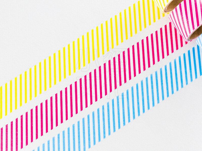 ~小徑文化~  amifa 2016 Summer 和紙膠帶 ~ 活潑的色彩_斜紋(JAN