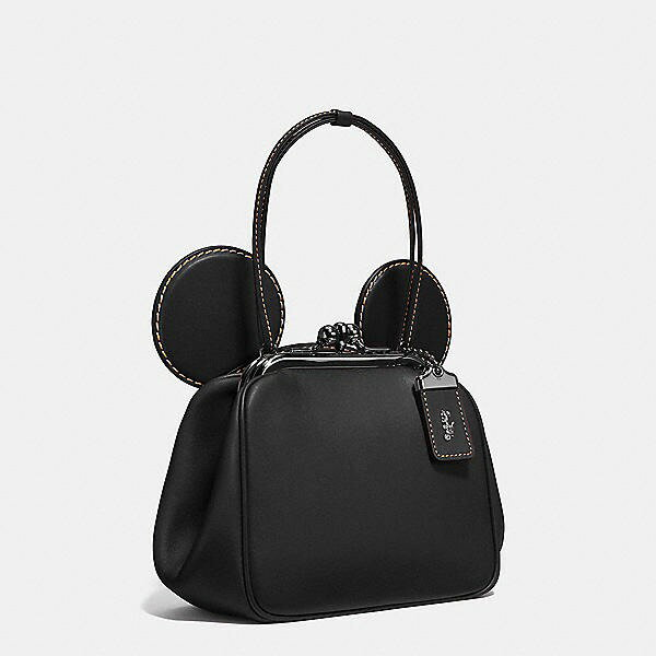 【DISNEY X COACH】MICKEY KISSLOCK 棒球手套鞣製皮革手袋 3色 少量現貨 精品 代購 6