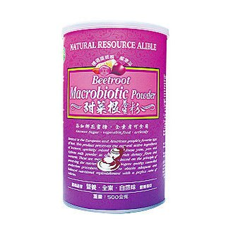 綠源寶~甜菜根養生粉500公克/罐 - 限時優惠好康折扣