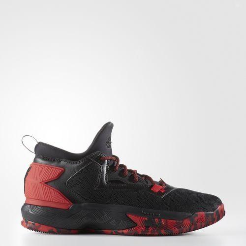 《限時特價↘7折免運》【運動世界】Adidas D LILLARD 2 黑紅 迷彩底 籃球鞋 男鞋 B42387