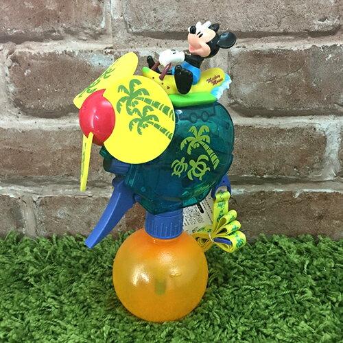 【真愛日本】 17071700001 樂園限定噴霧風扇-米奇香蕉船 迪士尼 米老鼠米妮 隨身噴水小風扇 消暑夏日必備