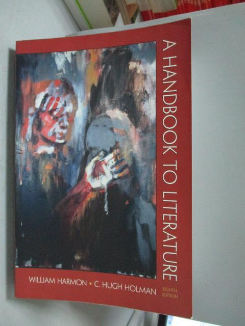 ~書寶 書T4/原文書_ZGN~A handbook to literature_Will