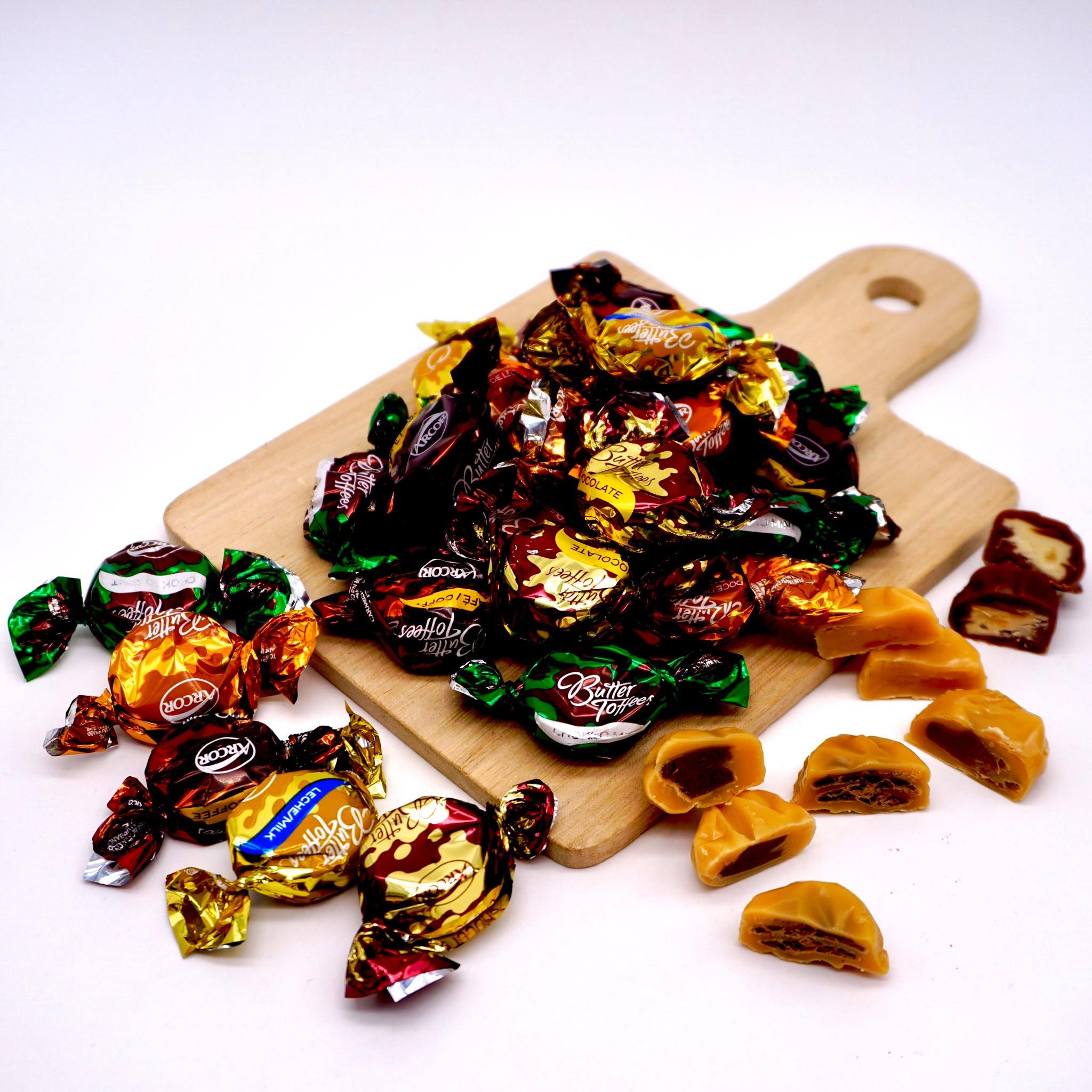 嘴甜甜 ARCOR太妃糖 太妃糖 奶油糖 牛奶糖 鮮乳糖 焦糖 可可 咖啡 薄荷 香草 素食 現貨