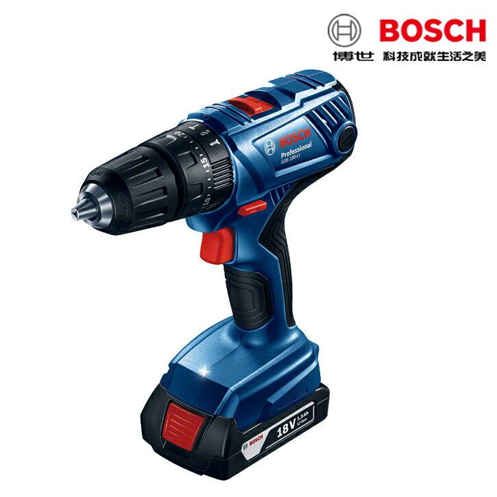 德國BOSCH博世 GSB 180-LI 18V鋰電震動電鑽 / 起子機 充電起子機 可調扭力 0